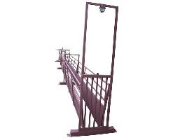 Manga con puerta guillotina Carpintería ganadera EL CANO S.L