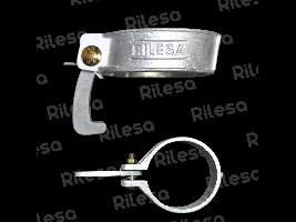 Abrazadera aluminio 90 equipada Riegos Lebrija