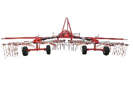 Rastrillo hilerador 2 rotores Bilan