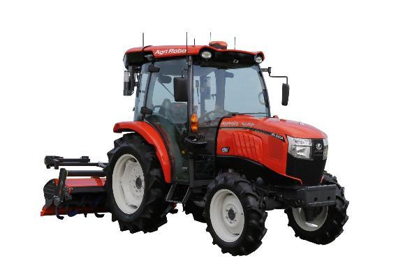 Tractor autónomo AgriRobo