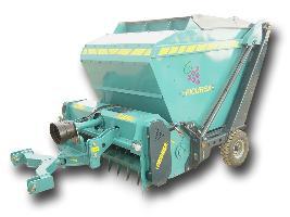 Trituradora viña cesto basculante gran capacidad Picursa