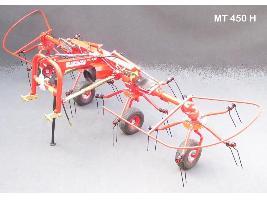 > MT 450 H / 500 H - ESPARCIDOR - 4 Rotores CBR Ceccato