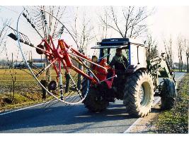 > ROL 240 / 320 - 9 BR TAV > HILERADOR DE RAMON - 1 Rotor CBR Ceccato