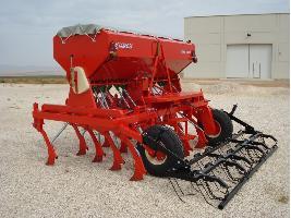Sembradoras de siembra directa de reja alzada para cereales Larrosa