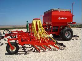 Sembradoras neumáticas de siembra tradicional para cereales Larrosa