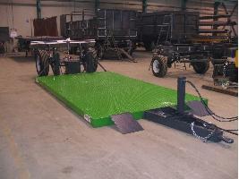 Remolques Transporte de Maquinaria Agrobellon