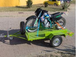 Remolques Automoción 1 Eje Motos Agrobellon