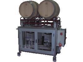 Maquina Lavabarricas Automática de Soporte Dugar