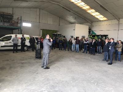Jornada de Puertas Abiertas en Concesionario Oficial CLAAS de Toledo - 2