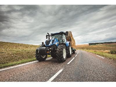 El sistema de freno inteligente de remolque de New Holland ofrece la mejor seguridad y estabilidad de su clase en los tractores T7 y T6 AutoCommand - 0