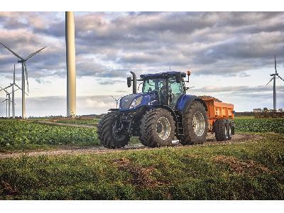 El sistema de freno inteligente de remolque de New Holland ofrece la mejor seguridad y estabilidad de su clase en los tractores T7 y T6 AutoCommand - 3