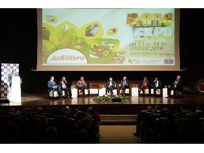 EL MINISTRO DE AGRICULTURA DEL GOBIERNO DE ESPAÑA INAUGURA AGROEXPO 2019  - 1