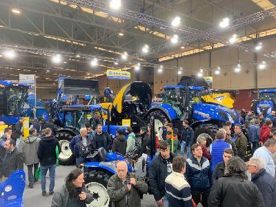 New Holland brilla en AGRARIA Valladolid 2019 - 2