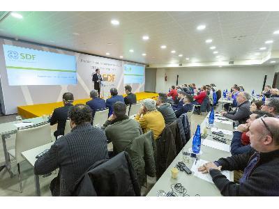 SDF Ibérica incrementa notablemente su facturación en 2018 y apunta a las nuevas tecnologías como estrategia principal para 2019. - 2
