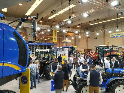 New Holland certifica su liderazgo en el segmento de Tractores Especiales y Vendimiadoras en Tecnovid 2019 - 2