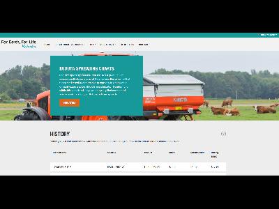 Nueva Website y nueva App – Fácil ajuste de su abonadora Kubota - 0