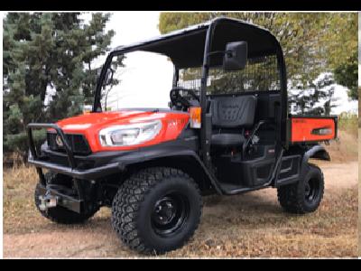 Kubota presenta su nuevo vehículo multiusos RTV-X1110  - 0