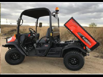 Kubota presenta su nuevo vehículo multiusos RTV-X1110  - 1