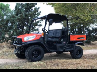 Kubota presenta su nuevo vehículo multiusos RTV-X1110  - 2