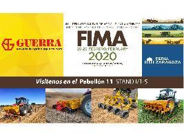 GUERRA UNA EDICIÓN MÁS EN FIMA 2020