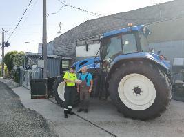 """La Guardia Civil inicia una campaña informativa para impulsar el """"uso seguro"""" de la maquinaria agrícola"""