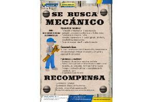 SE BUSCA MECÁNICO DE MAQUINARIA AGRÍCOLA