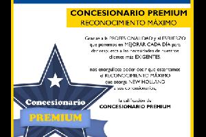 CONCESIONARIO PREMIUM, RECONOCIMIENTO MÁXIMO