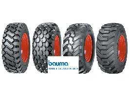 Mitas presentó sus neumáticos EM en Bauma