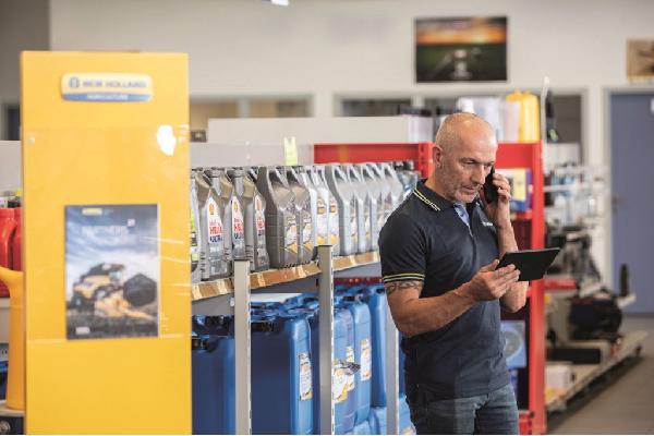 New Holland anuncia actualizaciones en la plataforma MyPLM Connect Farm.