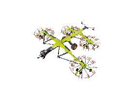 Nuevos hileradores de cuatro rotores CLAAS con anchuras de trabajo de 9,30 m a 15,00 m