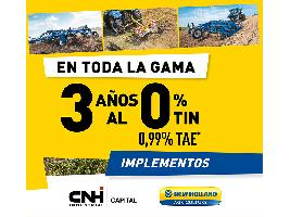 Financiación implementos New Holland