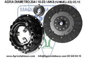 Venta repuesto Maza conjunto Embrague con Disco Tractor es y motocultores  Agria 8800-8845-9900-8800-8838