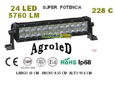 Recambio Barra led AgroleD 5760 LM 72W 228C